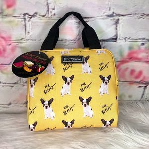 Betsey Johnson Frenchie Insulated Lunch Tote